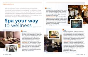 Spa article ACCESS Spring 2013